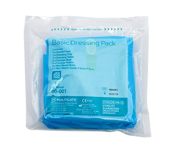 Picture of Basic Dressing Pack Multigate 00-001 NonWoven Each